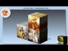 EFECTO CUBO - POWERPOINT 2016 - YouTube Free Learning Websites, Youtube, Software, Collage, Apps, Classroom, Future Gadgets, Computers, Cubes