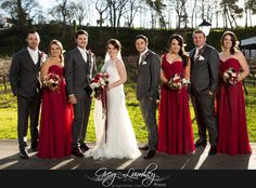 Family photos taken in winter at Molenvliet Wine Farm, Red Bridesmaids dresses. Red Bridesmaids, Red Bridesmaid Dresses, Wedding Dresses, Destination Wedding, Wedding Venues, Cape Town South Africa, Professional Photographer, Family Photos, Wedding Photography