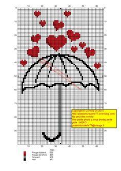 Umbrella heart