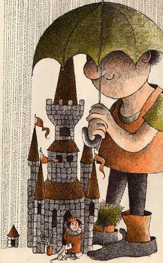 Giant John - written & illustrated by Arnold Lobel (1964).