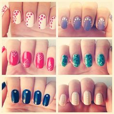 The easiest of nail art - 6 Ways to Wear Dots