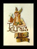 Iduna's Apple Ale; December, acrylic on cotton shirt; x A logo for a frosty cider ale. User Profile, Ale, December, My Arts, Deviantart, Logos, Artist, Shirt, Cotton