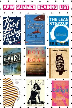 APW Summer Reading List: Book picks from the staff!