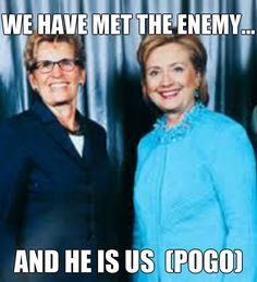 Wynne and Hillary have met the enemy