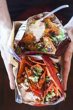 Vegetarian Walking Tacos aka DoriNachos by Jackie Alpers