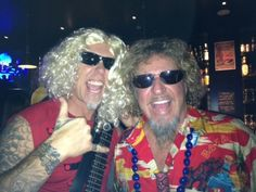 James Hetfield & Sammy Hagar