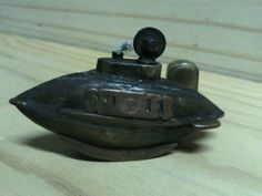 OLD  LIGHTER TRENCH ART    WW1