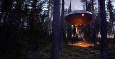 Ufo tree hotel, 2008 - Inredningsgruppen, Harads (Sweden)