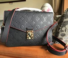 The cross-body strap of Louis Vuitton Monogram Empreinte Pochette Metis is fully adjustable and it can be removed when you want it. You also get one pocket outside, secured with a zipper and 3 pockets inside. Elegant trim is only better by the handle! But, it looks great in any possible situation and it will stand out in the sea of other bags. See more at http://www.luxtime.su/louis-vuitton-handbags/monogram-empreinte