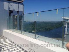 Glass Railing Стеклянное ограждение террасы