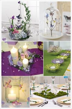 decoration mariage papillon decoration de table