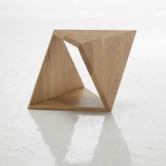 lovely geometric architectural table
