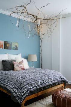 Pull branches from your local forest to create a truly special DIY statement piece for your home.