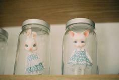 Pipos in jars!