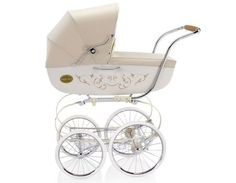 Inglesina Classica Pram.  What stroller could be more elegant.  You hardly want to call it a stroller