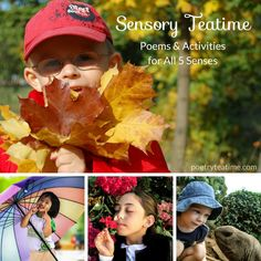 Sensory Teatime - Poetry Teatime