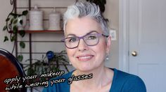 How to Apply your Makeup While Wearing your Glasses - by Kerry-Lou Make Up Tutorial Contouring, Acne Breakout, Look Younger, How To Apply Makeup, Skin So Soft, Makeup Tips, Drugstore Makeup, Makeup Yourself, Natural Makeup