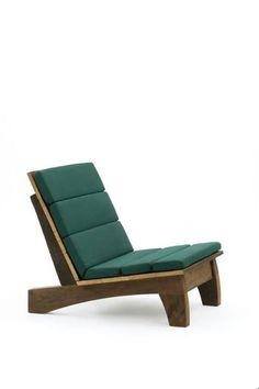 Carlos Motta seagreen lounge chair