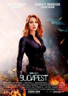 FanArt - Scarlett Johansson - Avengers - Black Widow