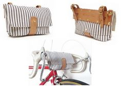 And another beautiful handlebar bag!