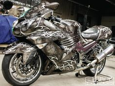 Mob Scene Average Time And Cost Of Airbrushing Custom Painted Motorcycle
