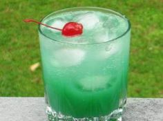 Blue Screw. 1oz. Vodka 1 oz. Blue caraco 4 oz. O.j. 2 oz. Sprite