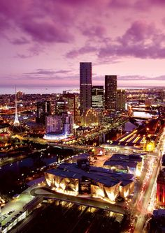Melbourne Australia  Im gonna make it here some day to see you babe :) <3