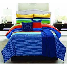 Luxury Home Parker 6 Piece Comforter Set