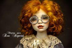 Авторская подвижная кукла «Женечка» – купить в интернет-магазине на Ярмарке Мастеров с доставкой - FE3UXRU