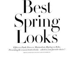 Kasia Struss by Josh Olins for H&M Magazine Spring 2011