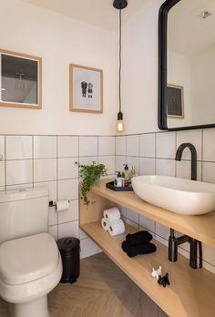 Casa Muji, Muji Haus, Bathroom Design Luxury, Bathroom Design Small, Home Interior Design, Bathroom Designs, Bad Inspiration, Bathroom Inspiration, Laundry In Bathroom