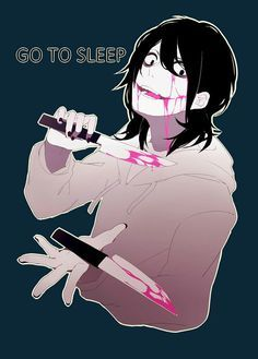 Me:*wakes up from nightmare and screams*Jeff:*runs in*whats wrong why do you look like your crying me:*runs over and hugs him* Jeff:What the hell Grave I did not think you had feelings Me:*lets go of him*I had a nightmare Jeff:Oh what was it about Me:I was in a straight jacket and you were there in a white room and I thought they hurt you Jeff:It's ok kiddo *messes up my hair* it's over I won't let them hurt me or you