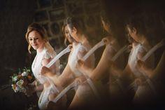 Reflection, preparation of the bride wedding photographer Surrey