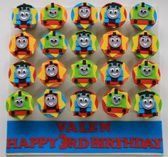 Image result for thomas the train cookie favors