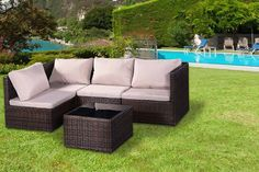 5pc rattan garden furniture set - Garden Furniture Edinburgh