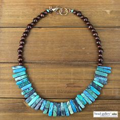 DIY Indie Necklace made with Bead Gallery beads and @beadalon flexible beading wire available at @michaelsstores #MadeWithMichaels