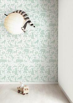 #Behang | Wallpaper Kek Amsterdam I think this might be my favorite.