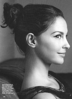 Ashley Judd, she is my fave.  I believe in very similar things.  I adore her because she is INSANELY SMART.... girly and makes me want to do good!