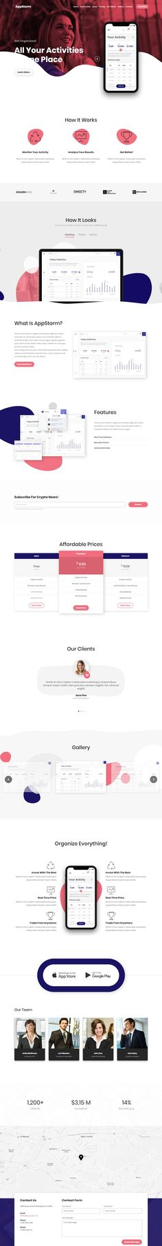 Buy Appstorm - App Startup WordPress Theme by ThemeArray on ThemeForest. AppStorm Theme Overview AppStorm app landing page theme is a clean and modern WordPress theme for introducing new ap. App Landing Page, Wordpress Theme, Software, Wordpress Template