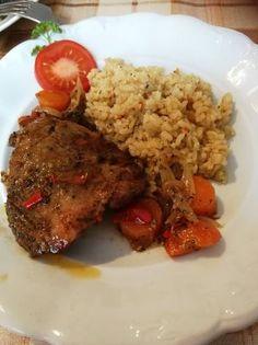 Mediterrán csirkefalatok Beef, Food, Hungarian Recipes, Meat, Essen, Meals, Yemek, Eten, Steak