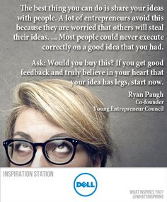 -- Ryan Paugh, Co-founder of the Young Entrepreneur Council