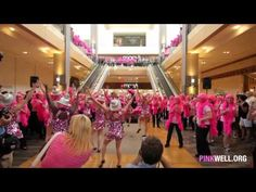 Pink Well Breast Cancer Survivor Dance Tribute