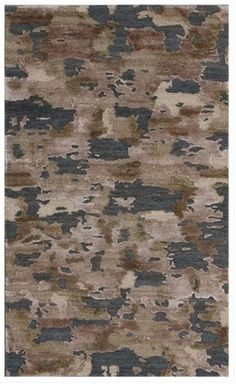 Rug Love Of The Day (RLOTD) goes to this hand knotted, wool and bamboo silk-made, Tibetan weave area rug. It has the autumn-like colors of grey, brown and off-white that give it a very cozy autumn feel!  www.UtahRugs.com