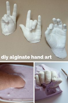 DIY: A Real Hands On Craft Using Alginate