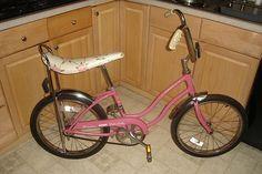 1974 Schwinn Stingray with banana seat - I had this bike :)