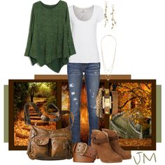 """""""Fall is in the air"""" by jenniemitchell on Polyvore"""