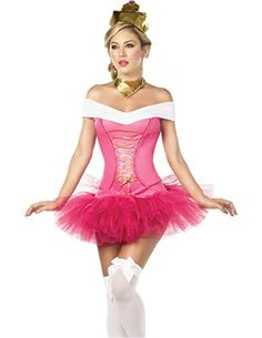 Sleepless Beauty Pink Princess Costume for Womens Sexy Princess Fancy Dress Costumes, Sleeping Beauty Dresses and Storybook and Fairytale Hen Party Outfits by Espiral, available to buy online in the UK Sleeping Beauty Costume, Disney Halloween Costumes, Halloween Ideas, Rave Costumes, Halloween 2015, Group Costumes, Adult Halloween, Adult Costumes, Halloween Makeup