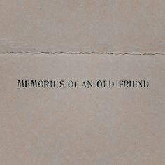 Beautiful faded lettering, just like the memories of an old friend. Jean Valjean, Markiplier, Moira Burton, Jm Barrie, All The Bright Places, Merian, Come Undone, Character Aesthetic, Love You