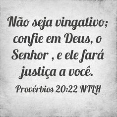 Provérbios 20.22 NTLH