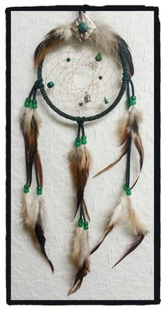 Check out this item in my Etsy shop https://www.etsy.com/listing/230951638/malachite-gemstone-dream-catcher-green